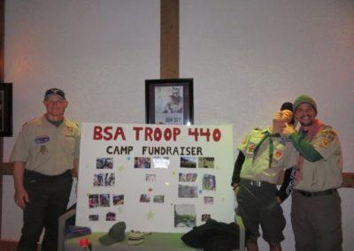Troop 440 event poster board