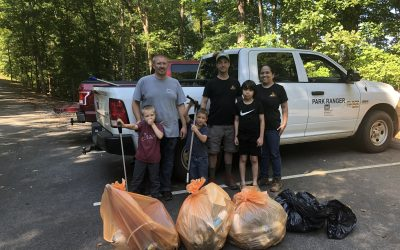 2021 Volunteer service with the Corps of Engineers at Carters Lake